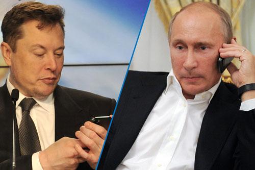 Elon Musk Invites Vladimir Putin to Have a Clubhouse Talk. The Kremlin Responds.